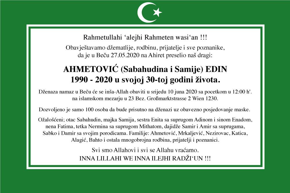 Edin Ahmetovic